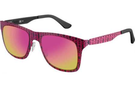 Sunglasses - Oxydo - OX 1079/SC/S - OBL (E2) GRAPHIC PINK // PINK VIOLET GOLD MIRROR