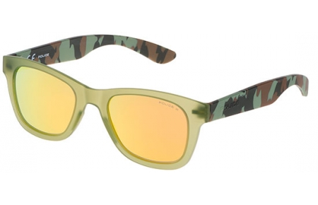 b3f4dcaa3d Gafas Junior - Police Junior - SK039 EXCHANGER 3 - NVNG CAMUFLAJE // ORANGE  POLARIZED