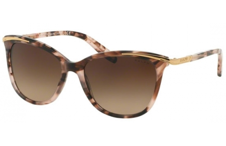 Brown Dark Sol Tortoise Gafas Ra5203 146313 Lauren Ralph Pink Gradient De Ljq5c3AS4R