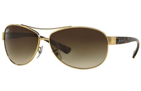 aa167d8e0fc1e Gafas de Sol RayBan RB3386 001 13 ARISTA    BROWN GRADIENT