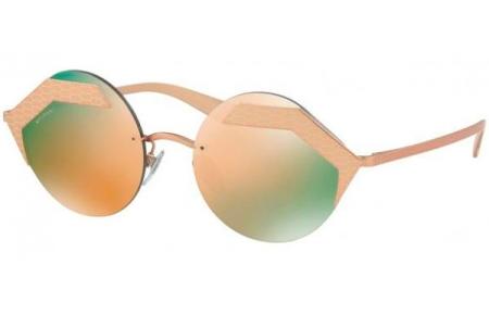 311ff2abd0 Gafas de Sol - Bvlgari - BV6089 SERPENTEYES - 20134Z MATTE PINK GOLD PINK  GOLD /