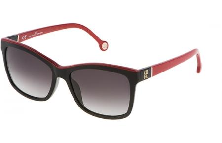 9ec8e54071 Gafas de Sol - Carolina Herrera - SHE598 - 09H7 SHINY BLACK RED // GREY