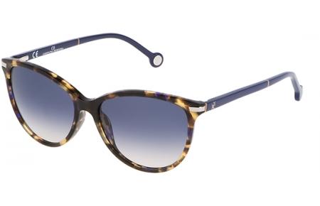 d956fb3ce7 Gafas de Sol - Carolina Herrera - SHE651V - 0744 SHINY HAVANA // BLUE  GRADIENT