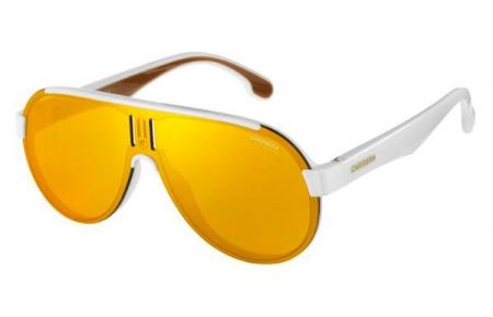 6ce062f15b Sunglasses Carrera CARRERA 1008/S VK6 (K1) WHITE // BROWN GOLD MIRROR