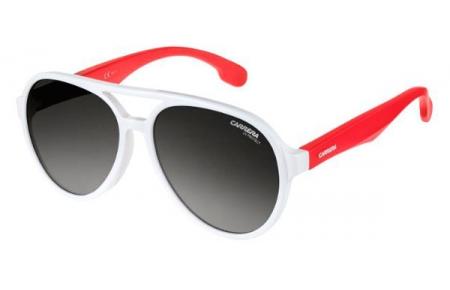 60e8913555 WHITE // DARK GREY GRADIENT. Gafas Junior - Carrera Junior - CARRERINO 22 -  VK6 (9O) WHITE //