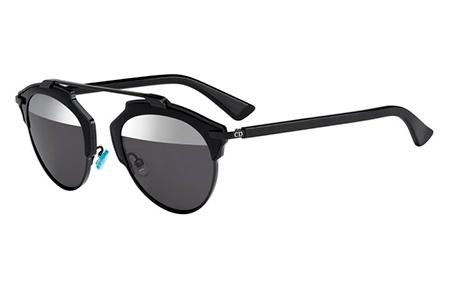 f0f9cba383 Gafas de Sol Dior DIORSOREAL B0Y (MD) BLACK // GREY SILVER MIRROR