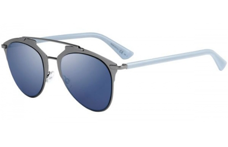 9779b7d4f9 Gafas de Sol Dior DIORREFLECTED TUY (XT) DARK RUTHENIUM BLUE // BLUE ...
