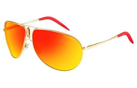 dc0bfe95a7 Sunglasses Carrera GIPSY AOZ (UZ) STEEL MATTE GOLD // RED MIRROR