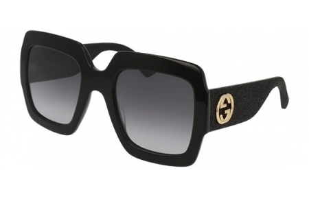 cc051444f6 Gafas de Sol - Gucci - GG0102S - 001 BLACK SILVER // GREY