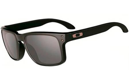 a796e84a7 Gafas de Sol Oakley HOLBROOK OO9102 910263 MATTE BLACK // BLACK IRIDIUM