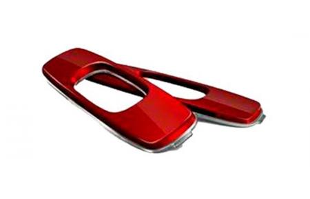 401ba89aaf Gafas de sol Oakley OO9101 BATWOLF Icono de recambio 08032 Red Anodized