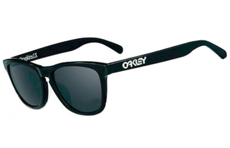 9b80aad7e7c3 GLOBAL FROGSKINS LX OO2043 - 2043-04. POLISHED BLACK    BLACK IRIDIUM  POLARIZED. Sunglasses - Oakley ...