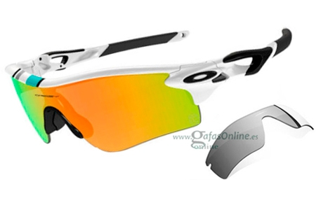 e35d7ba8a7 Gafas de Sol - Oakley - RADARLOCK PATH OO9181 - 9181-30 POLISHED WHITE /