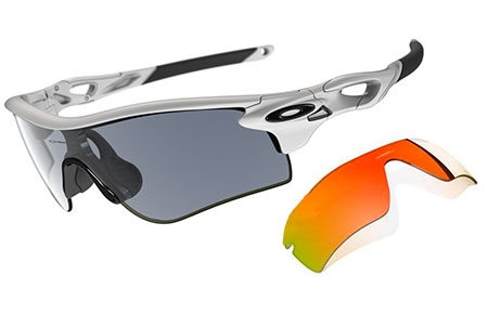 eb2c1160dd Sunglasses - Oakley - RADARLOCK PATH OO9181 - 9181-C02 POLISHED WHITE SLATE