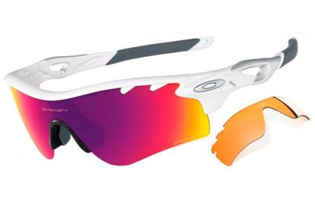 6c050ea19f Oakley Radarlock Polished White   Prizm Road