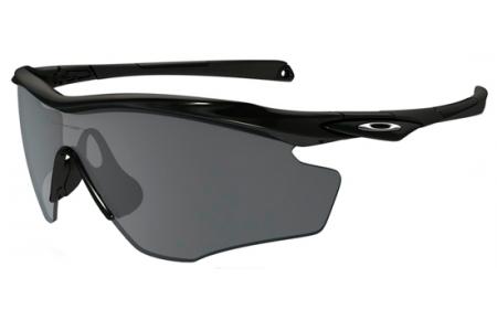 7b9815cd83e Sunglasses Oakley M2 FRAME XL OO9343 934304 POLISHED BLACK    BLACK ...