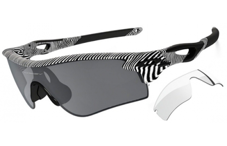 0e2f36541b Sunglasses - Oakley - RADARLOCK PATH OO9181 - 9181-44 FINGERPRINT POLISHED  WHITE   . Polarized