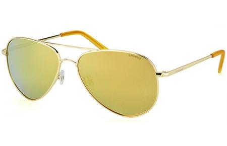 Gafas de Sol Polaroid PLD 6012 N J5G (LM) GOLD    GREY GOLD MIRROR ... f7f2effd1e0e