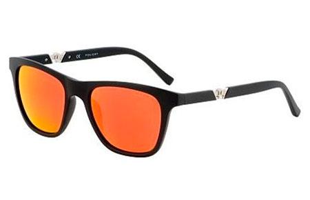 86ca144d95 Gafas de Sol Police S1800 DRIFT 3 703R NEGRO MATE // ROJO NARANJA ...