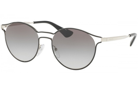 79cab980ec Gafas de Sol Prada SPR 62SS CINEMA 1AB0A7 BLACK SILVER // GREY GRADIENT