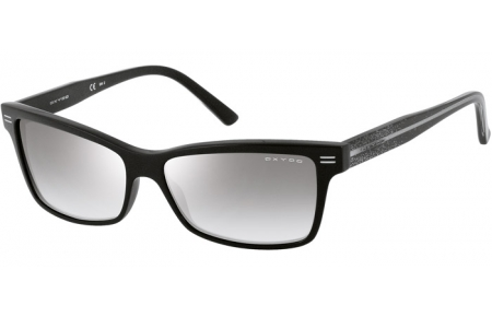 Sunglasses - Special offer - Oxydo - OX 1012/S - VXU (IC) BLACK GLITTER // GREY SILVER MIRROR