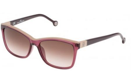 Herrera Brown Carolina Gafas She598 Shiny Gradient Pink Transparent De Purple Sol 0w48 Plum BtrdCohQsx