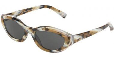 Sunglasses - Alain Mikli - A05038 DESIR - 011/87 BROWN TORTOISE HORN // GREY