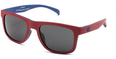Sunglasses - Adidas Originals - AOR000 - 053.021 RED BLUE // FULL GREY