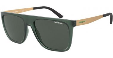 Sunglasses - Arnette - AN4261 - 258587 MATTE TRANSPARENT GREEN // GREY