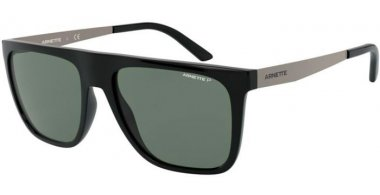 Sunglasses - Arnette - AN4261 - 41/9A BLACK // GREEN POLARIZED