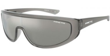 Sunglasses - Arnette - AN4264 - 25906G TRANSPARENT GREY // GREY MIRROR SILVER