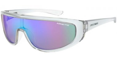 Sunglasses - Arnette - AN4264 - 2634Y7 CRYSTAL TRANSPARENT // LIGHT GREY MIRROR BLUE