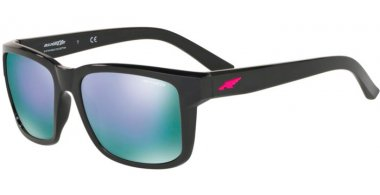 Sunglasses - Arnette - AN4218 SWINDLE - 41/4V BLACK // GREY MIRROR VIOLET