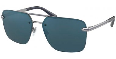 Sunglasses - Bvlgari - BV5054 - 103/W6 GUNMETAL // DARK GREY MIRROR BLUE