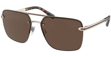 Sunglasses - Bvlgari - BV5054 - 202273 MATTE PALE GOLD // BROWN