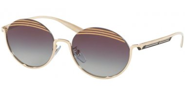 Sunglasses - Bvlgari - BV6119 - 278/8G PALE GOLD // GREY GRADIENT