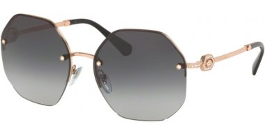 Sunglasses - Bvlgari - BV6122B - 20148G PINK GOLD // GREY GRADIENT