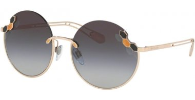 Sunglasses - Bvlgari - BV6124 - 278/8G PALE GOLD // GREY GRADIENT