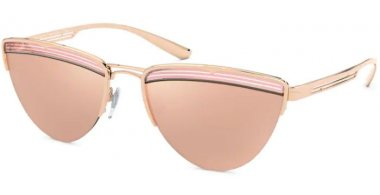 Sunglasses - Bvlgari - BV6145 - 20144Z PINK GOLD // REAL ROSE MIRROR GOLD