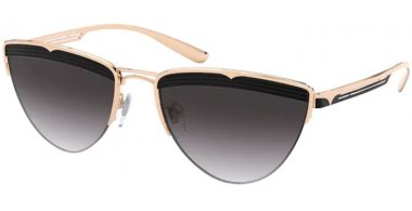 Sunglasses - Bvlgari - BV6145 - 20338G PINK GOLD BLACK // GREY GRADIENT