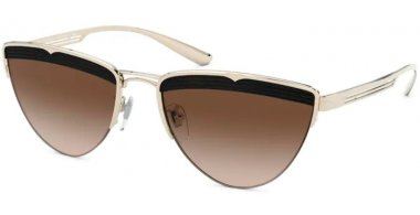 Sunglasses - Bvlgari - BV6145 - 278/13 PALE GOLD // BROWN GRADIENT