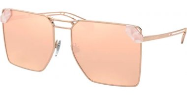Sunglasses - Bvlgari - BV6147 - 20144Z PINK GOLD // REAL ROSE MIRROR GOLD