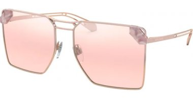 Sunglasses - Bvlgari - BV6147 - 20147E PINK GOLD GRADIENT PINK // LIGHT PINK GRADIENT MIRROR SILVER