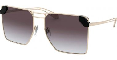 Sunglasses - Bvlgari - BV6147 - 278/8G PALE GOLD // GREY GRADIENT