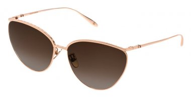 Gafas de Sol - Carolina Herrera New York - SHN069M - 0300  SHINY ROSE GOLD // BROWN GRADIENT