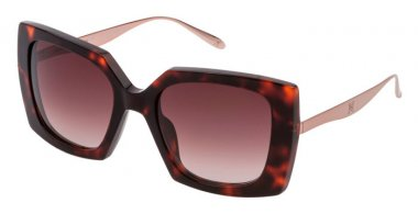 Sunglasses - Carolina Herrera New York - SHN616M - 0786  DARK HAVANA // BROWN GRADIENT