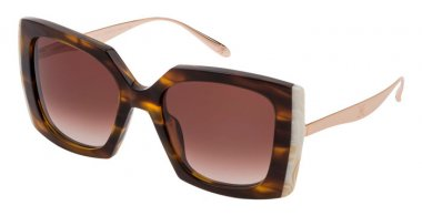 Sunglasses - Carolina Herrera New York - SHN616V - 0781  SHINY HAVANA // BROWN GRADIENT