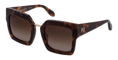 Sunglasses - Carolina Herrera New York - SHN606M - 01AY  SHINY DARK HAVANA // BROWN GRADIENT