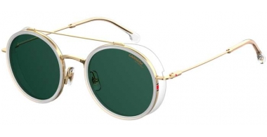 Sunglasses - Carrera - CARRERA 167/S - 900 (QT) CRYSTAL // GREEN