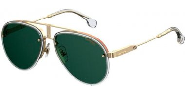 Sunglasses - Carrera - CARRERA GLORY - 900 (QT) GOLD CRYSTAL // GREEN